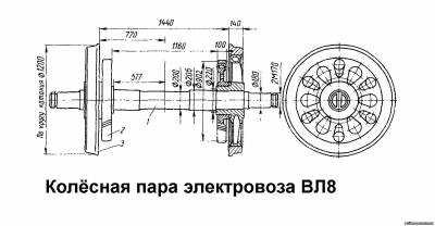 Электро схема электровоза вл 8
